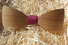 Doplnky - drevený motýlik 3D - 10874715_