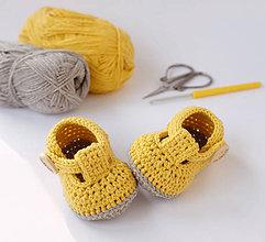 Topánočky - papučky/sandálky (Váš farebný variant) - 10874316_