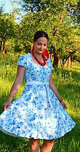 Šaty - Romantické retro šaty - 10872639_