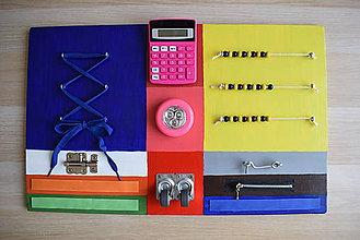 Hračky - Hracia doska - activity board - 10873683_
