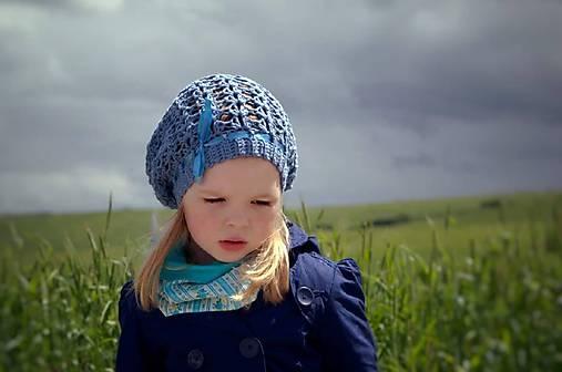 Jarná ~ háčkovaná čiapka