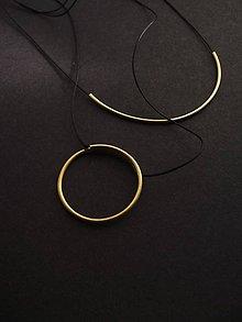 Náhrdelníky - Shine // necklace // circle - 10872846_
