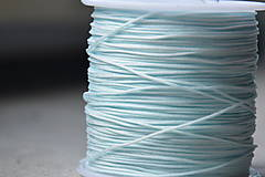 Galantéria - Šnúrka nylon nebeská 0.8mm, 0.09€/meter - 10872742_
