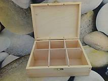Polotovary - Krabica drevena - 10872380_