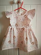 Detské oblečenie - Šaty pre baletku - 10875827_