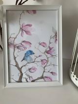 """Detské doplnky - Obraz """"magnolia"""" - 10876335_"""