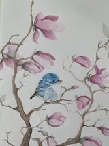 """Detské doplnky - Obraz """"magnolia"""" - 10876337_"""