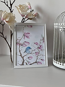 """Detské doplnky - Obraz """"magnolia"""" - 10876336_"""