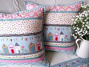Úžitkový textil - Garden Tea Party ... vankúš - 10875786_