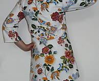 Šaty - Minišaty Plná výšivka - 10877707_