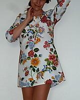 Šaty - Minišaty Plná výšivka - 10877709_