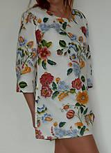 Šaty - Minišaty Plná výšivka - 10877711_