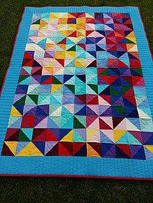 Úžitkový textil - V zajatí dúhy - 10875201_