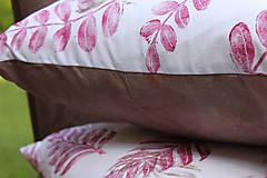 Úžitkový textil - Polštář s přírodními motivy I. - 10877859_