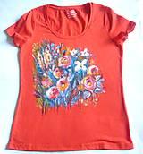Tričká - Kvety 5 - 10877633_