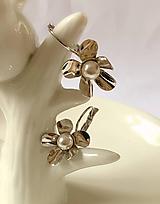 Náušnice - perlové náušnice, deň matiek - 10877434_
