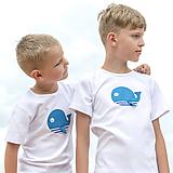 Detské oblečenie - tričko VEĽRYBA 86 - 134 (dlhý aj krátky rukáv) - 10876932_