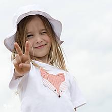Detské oblečenie - tričko LÍŠKA 86 - 134 (dlhý aj krátky rukáv) - 10876672_