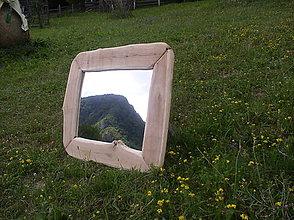 Zrkadlá - zrkadlo v dreve - 10877055_
