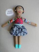 Hračky - Frida Kahlo - gombíková bábika - 10876958_