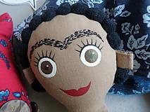 Hračky - Frida Kahlo - gombíková bábika - 10876965_