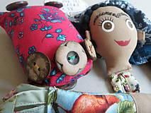 Hračky - Frida Kahlo - gombíková bábika - 10876966_
