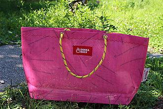 Veľké tašky - Úsmev ako dar - DORKA bag - 10876128_