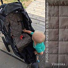 Textil - VLNIENKA Podložka do športového bežeckého kočíka B.O.B. REVOLUTION 100% MERINO BOB - 10875013_