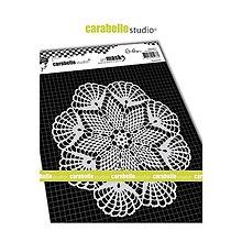 Pomôcky/Nástroje - Šablóna Carabelle mask Mandala paličkovaná - 10876160_