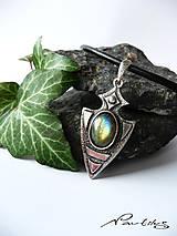 """Náhrdelníky - Strieborný šperk Ag925 """"Ochranný štít"""" - 10875522_"""