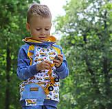 Detské súpravy - Originálna mikina a tepláky - 10877504_