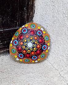 Dekorácie - Kamienok z Pukanca - Na kameni maľované - 10878061_