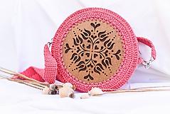 Hačkovano - drevená kabelka (Tulipánka)