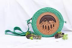 Kabelky - Hačkovano - drevená kabelka (Príroda) - 10877328_
