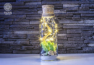 Svietidlá a sviečky - Dekoračná lampa (na baterky) - 10875444_