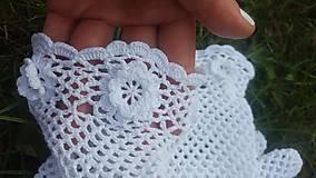 Rukavice - Biele rukavičky pre nevestu - 10875972_