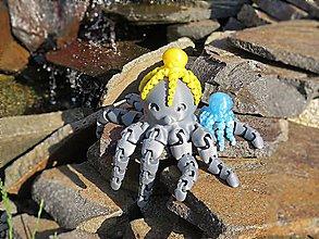 Hračky - Chobotnička s pohyblivými chápadlami - 10876579_