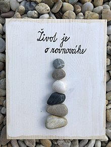 Obrazy - Kamienkáč Rovnováha - 10877810_