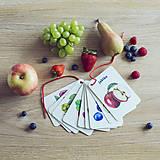 Hračky - Kartičky Ovocie - 10875106_