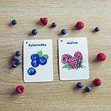 Hračky - Kartičky Ovocie - 10875107_