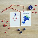 Hračky - Kartičky Ovocie - 10875108_