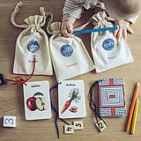 Hračky - Kartičky Ovocie - 10875110_