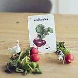 Hračky - Kartičky Zelenina - 10875112_