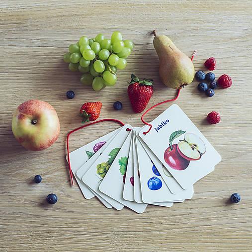 Kartičky Ovocie