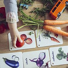 Hračky - Kartičky Zelenina - 10875111_