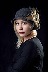Čiapky - Plstený klobúk - 10876710_