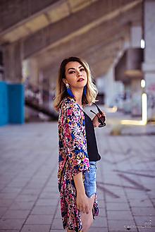 Šaty - Kvetované kimono (38) - 10877276_