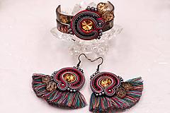 Sady šperkov - Farebný soutache set I. - 10875514_