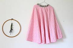 """Detské oblečenie - Sukňa """"Najdlhšia a najtočivešia"""" - 10877486_"""