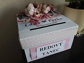 Krabičky - Svadobná pokladnička - MAXI Pivonky - 10877559_